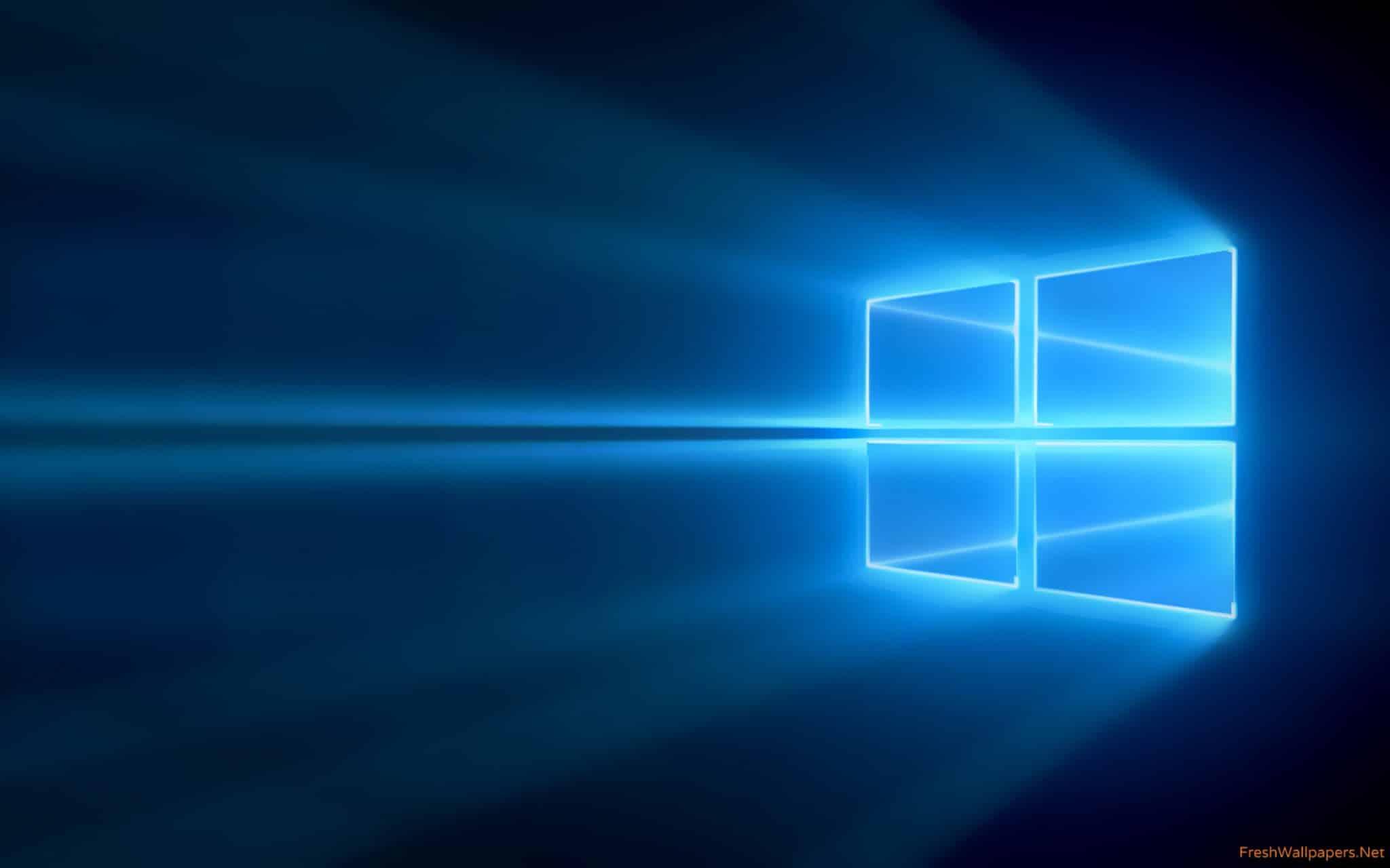 Windows 10 oficiální pozadí
