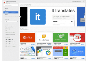 rozšíření Google Chrome, doplňky