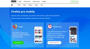 Firefox pro mobily