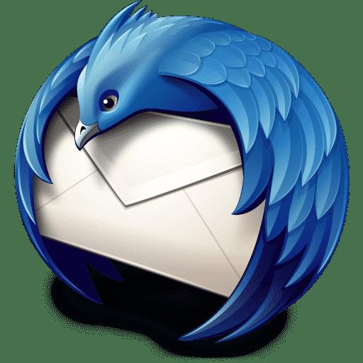 Mozilla Thunderbird, logo