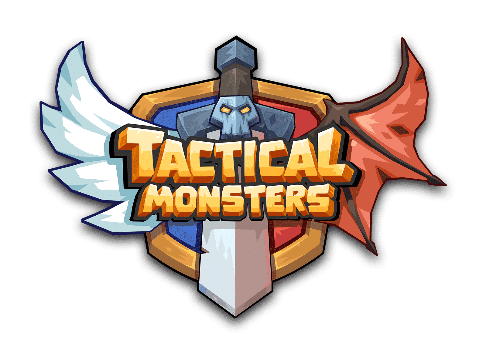 Tactical Monsters Rumble Arena, logo