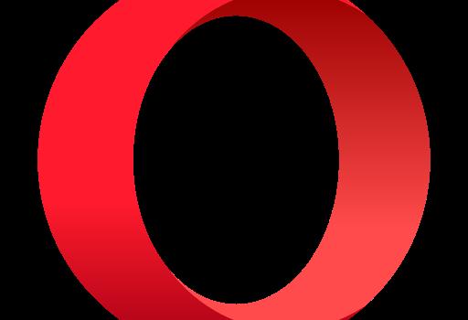 prohlížeč Opera, logo