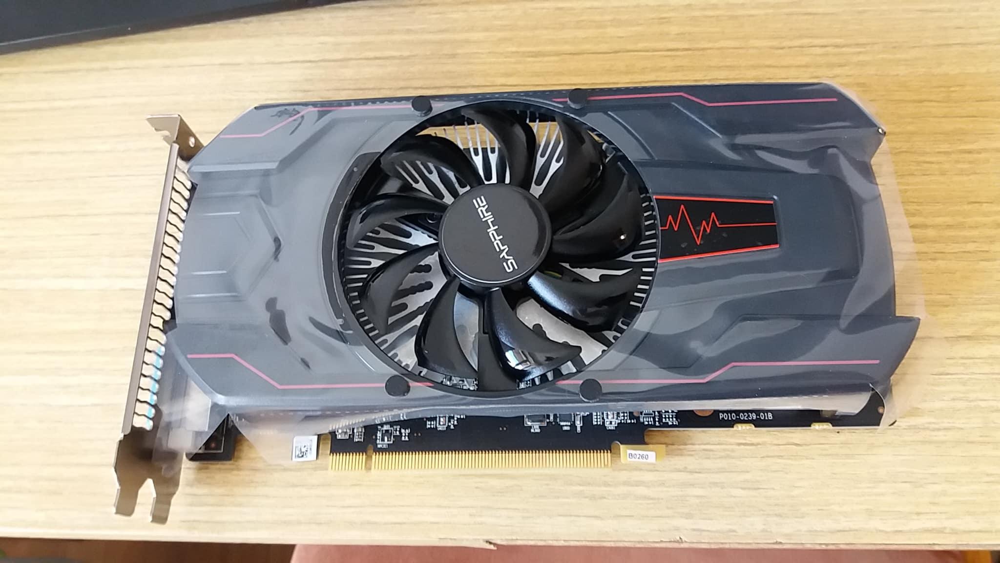 můj Sapphire PULSE Radeon RX 560, 2GB