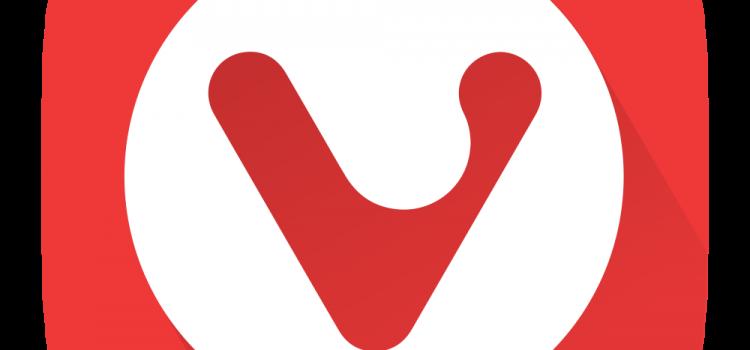 prohlížeč Vivaldi, logo