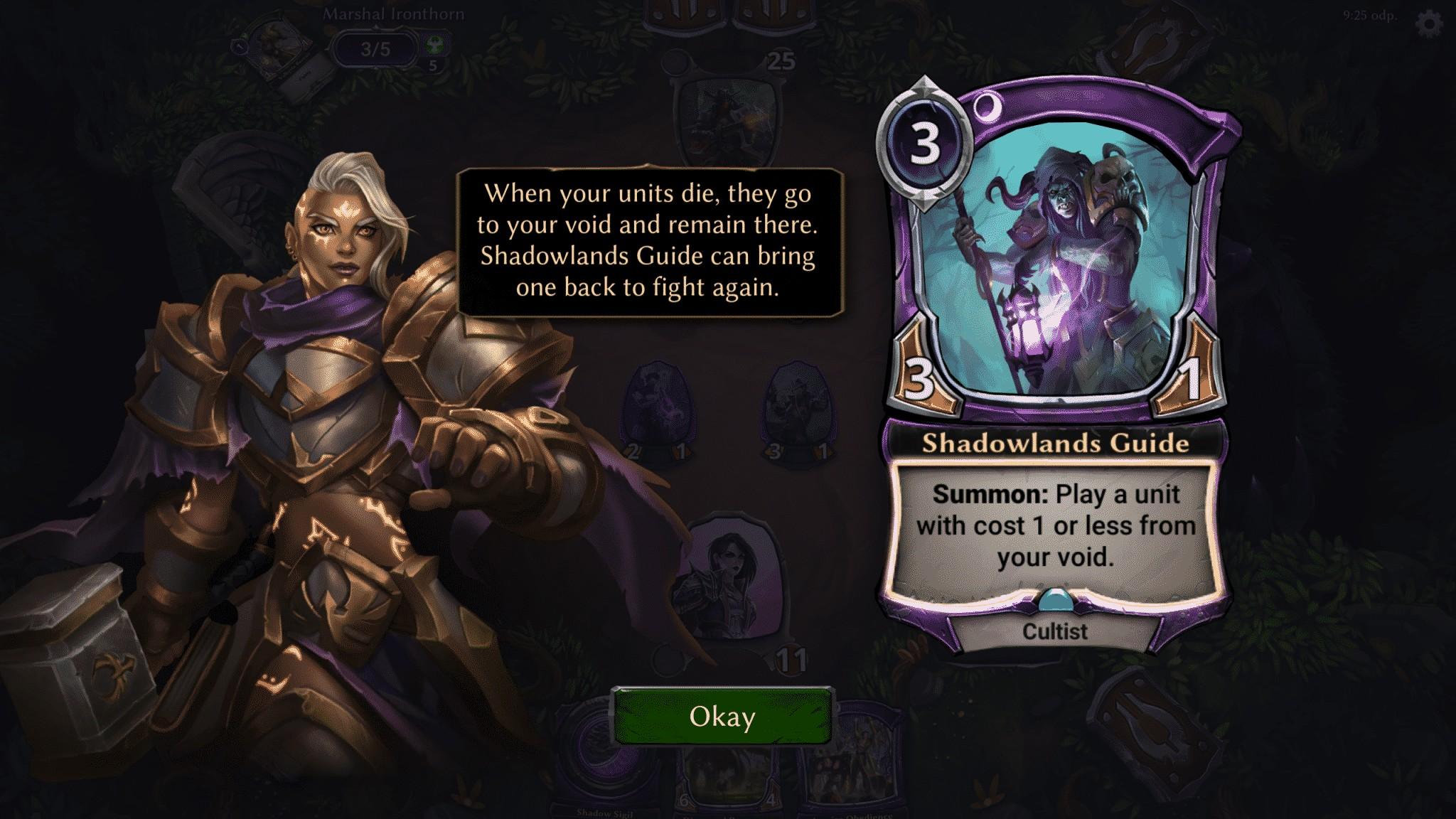 Eternal Card Game, tutorial