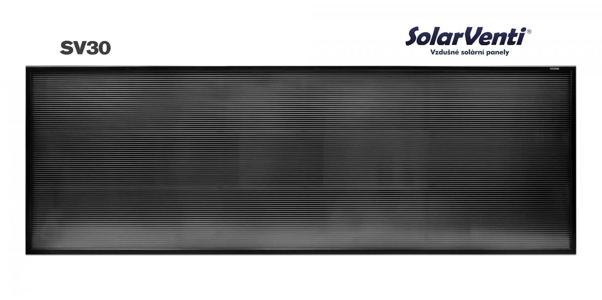Teplovzdušný solarní panel SolarVenti SV30 A MidLine