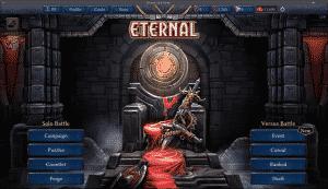Eternal Card Game, hlavní okno