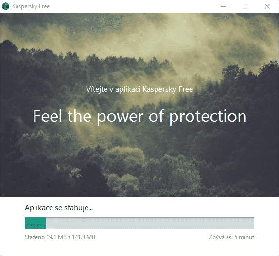Kaspersky Free, stahování a instalace