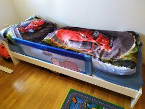 Dětská postel pro kluka, Heureka 80x200 bílá