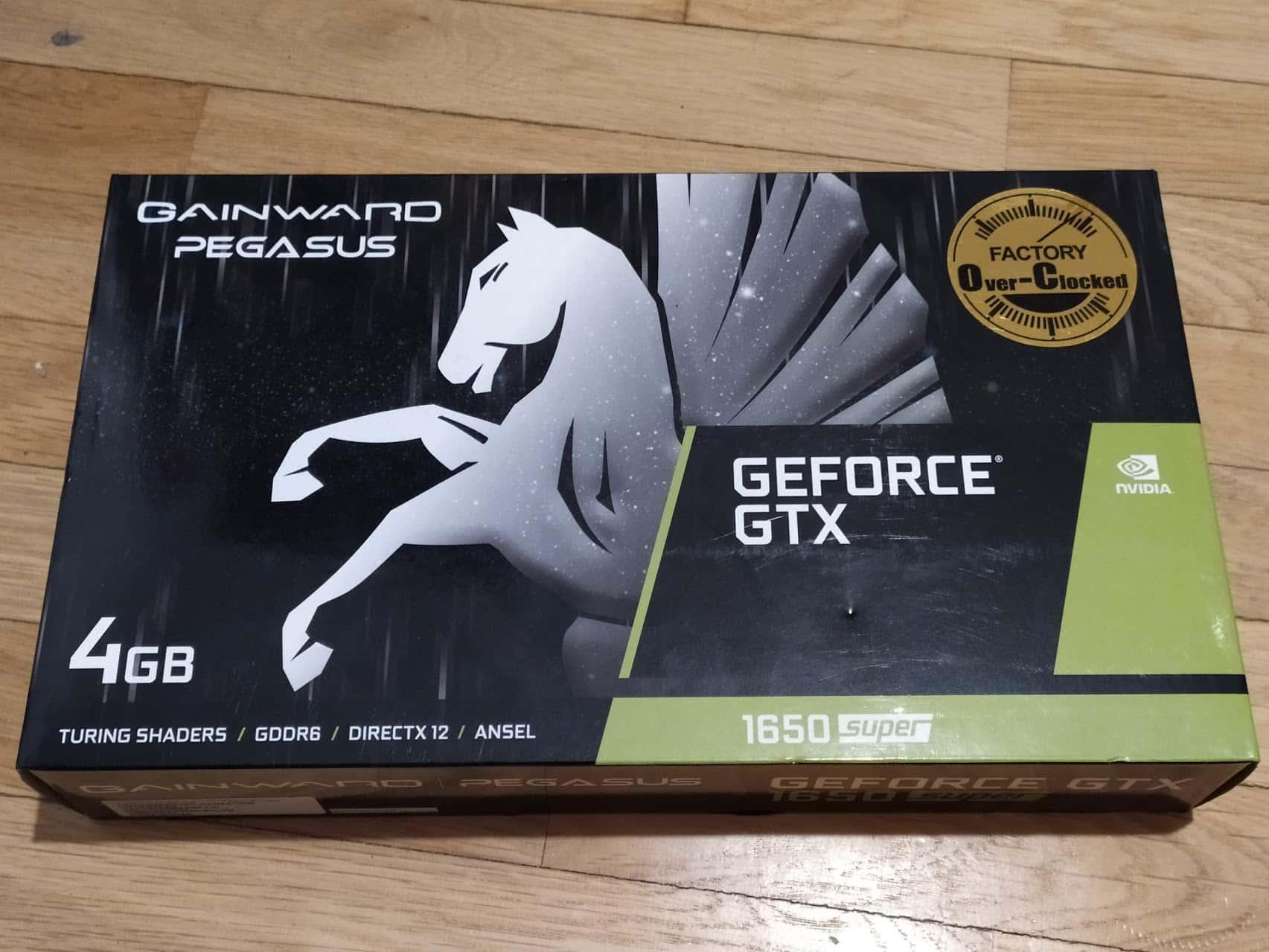 GeForce GTX 1650 SUPER OC od společnosti GAINWARD