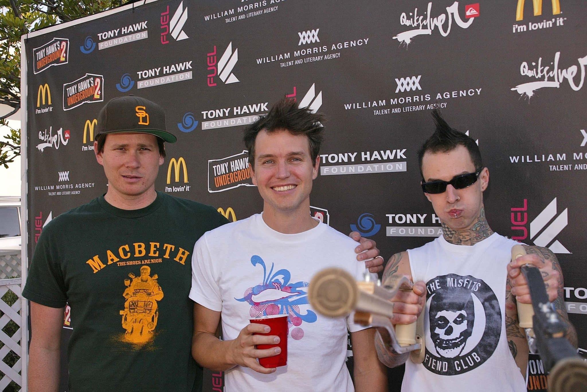 Moje oblíbená tříčlenná kapela z mládí, Blink 182. Poslouchám ji stále.