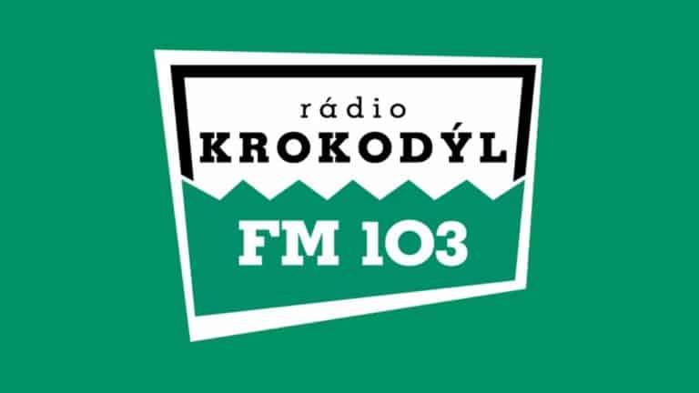 Rádio Krokodýl, logo