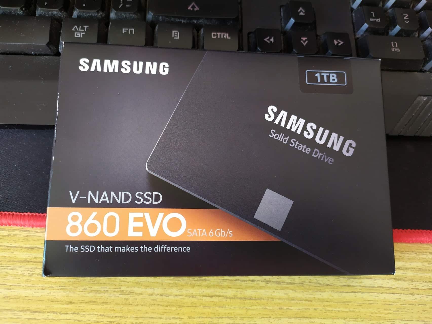 SAMSUNG 860 EVO V-NAND SSD