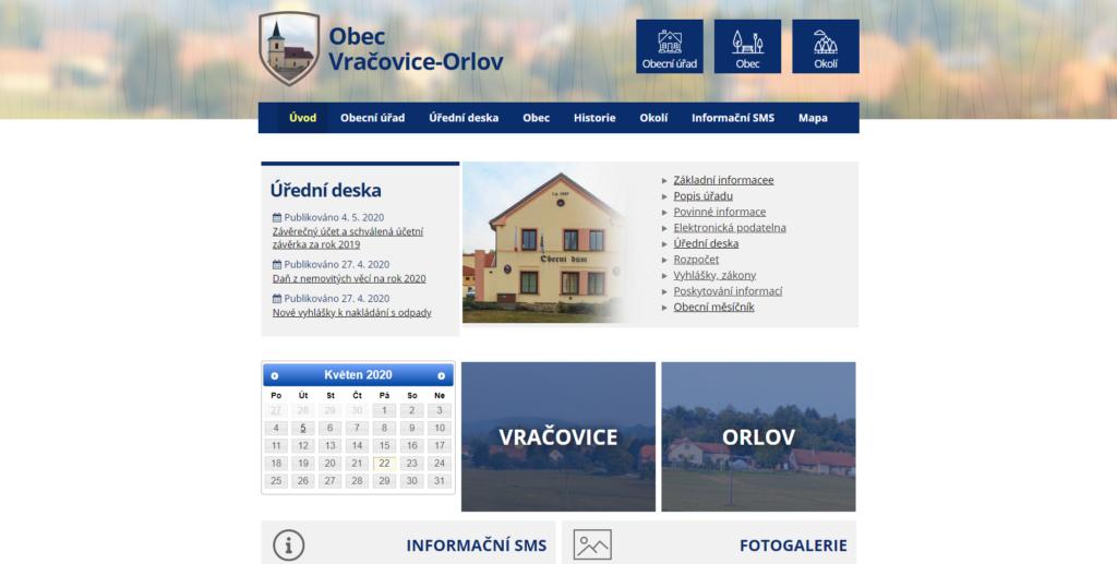 obec Vračovice-Orlov