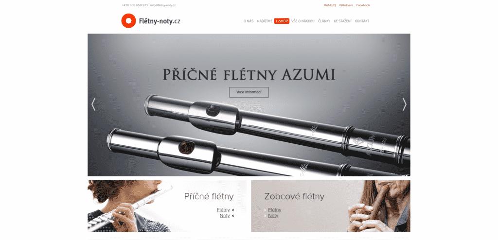 Flétny-noty.cz