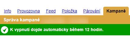 Deaktivace na Zboží.cz trvá 12 hodin