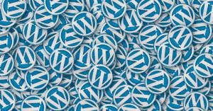 WordPress loga na hromadě