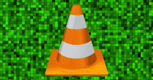 Zelené pixely, VLC přehrávač